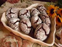 Biscotti al cacao teneri e senza burro