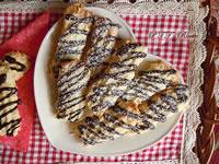 Biscotti cocco e cioccolato senza burro, olio e lievito
