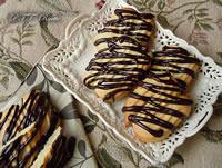 Biscotti di pasta frolla all'olio profumati al mandarino