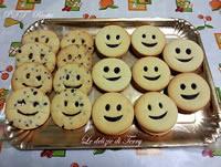 Biscotti Smile con cioccolato