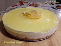 Cheesecake al limone con yogurt al limone