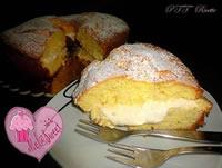 Chiffon cake con diplomatica alle mandorle