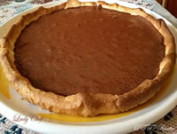 Crostata al cioccolato fondente