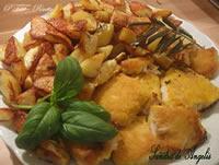 Filetti di persico speziati e dorati