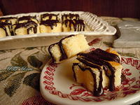 Fiorellini di cheesecake con tre ingredienti