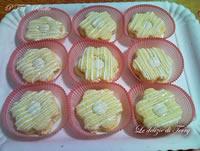 Fiorellini di pasta biscotto con Nutella bianca