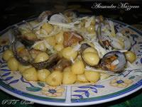 Gnocchetti con vongole veraci e funghi porcini