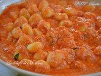 Gnocchi di patate con pesto alla siciliana
