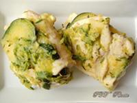 Involtini di pollo con zucchine e mozzarella