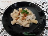 Mezze maniche gorgonzola e noci