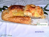 Pasta sfoglia con carciofi