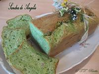 Plumcake salato con spinaci, speck e formaggio