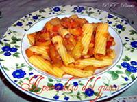 Rigatoni con zucchine e zafferano