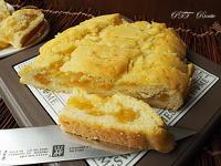 Rotolo di frolla senza glutine e senza burro con marmellata
