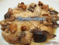 Scaloppine ai funghi