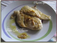 Scaloppine di petto di pollo