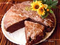 Torta al cioccolato dietetica