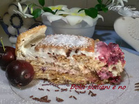 Torta con biscotti Petit Oro Saiwa