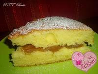 Torta con crema di marroni alla vaniglia