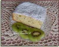 Torta dietetica con kiwi