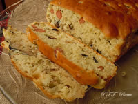 Torta salata wurstel e olive