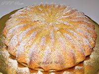 Torta soffice mandorle e vaniglia