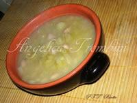 Zuppa di cavolo, patate e fagioli