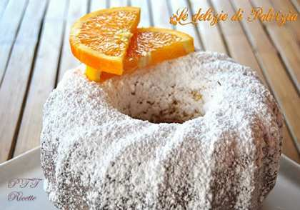 Ciambella all'arancia e Grand Marnier