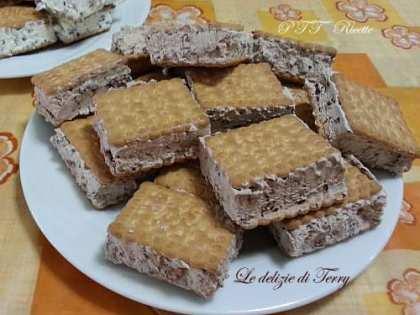 Gelato biscotto al cioccolato