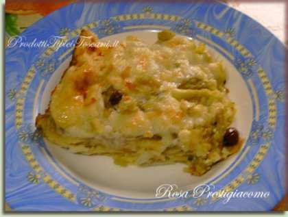 Lasagne con broccoli al forno