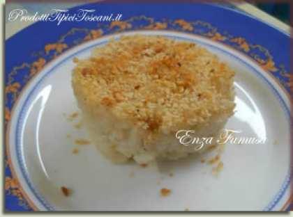 Sformatini di riso ai formaggi