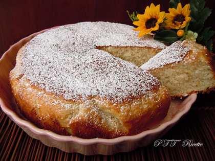 Torta al kefir e cocco