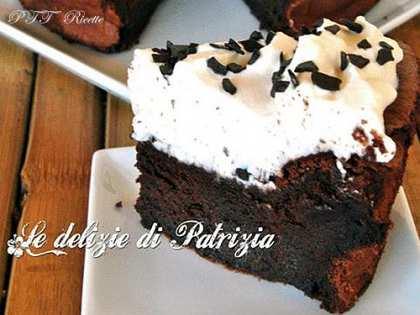 Torta cioccolato e Baileys senza farina
