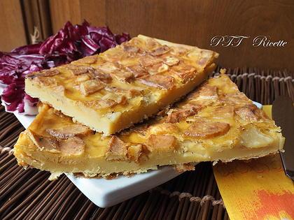 Torta salata e Spiedini di ceci e patate