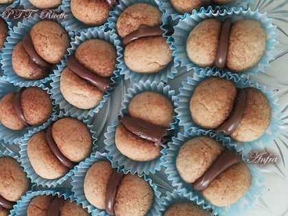 Baci di dama con Nutella