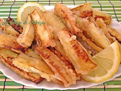 Bastoncini di zucchine in tempura senza uova