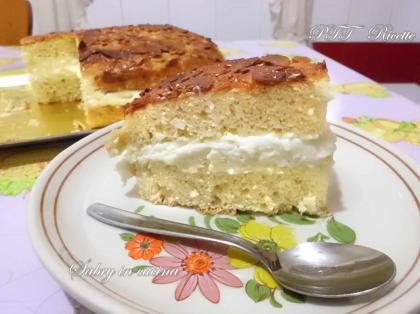 Bienenstich torta tedesca