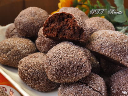 Biscotti al cacao e ricotta