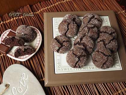 Biscotti al cacao senza glutine e senza lattosio