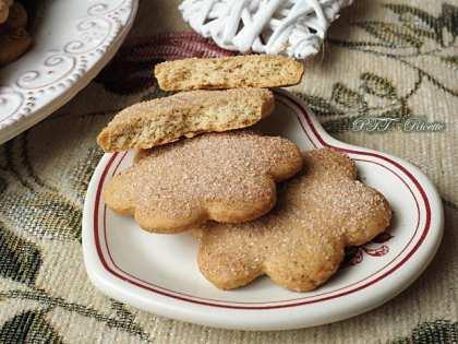 Biscotti alla cannella senza lattosio