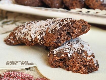 Biscotti cocco, cacao e cioccolato naturalmente senza glutine