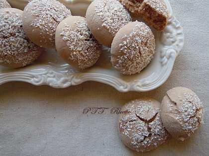 Biscotti per colazione al cocco e cacao