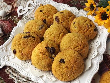 Biscotti di mais e cocco senza glutine