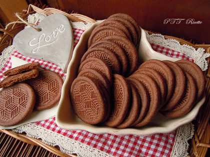 Biscotti dietetici al cacao