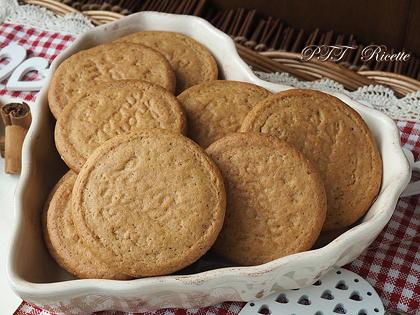 Biscotti per la colazione alla cannella