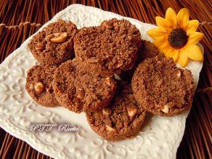 Biscotti senza glutine al cacao