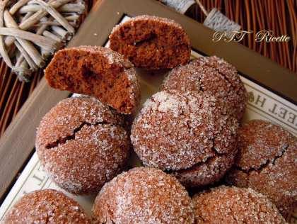 Biscotti senza glutine al cioccolato