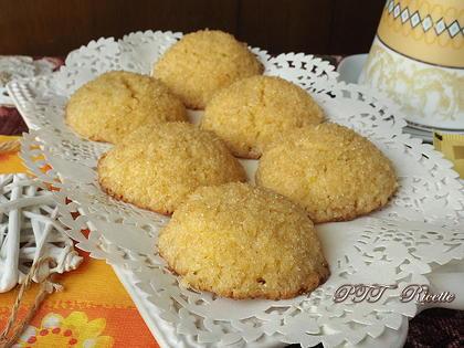 Biscotti senza glutine al cocco e limone