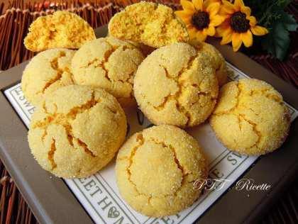 Biscotti senza glutine al limone e curcuma