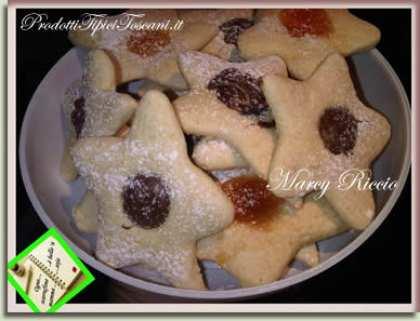 Biscotti stelline del mattino